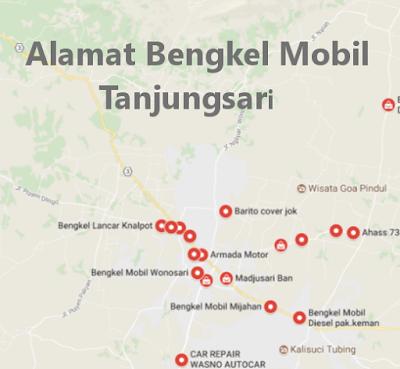 Alamat Variasi Mobil sekitar Tanjungsari, Gunung Kidul