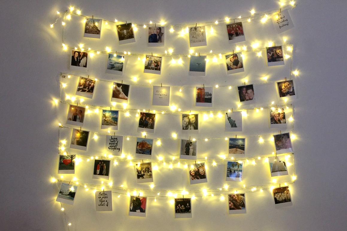 Fairy Light Photo Collage