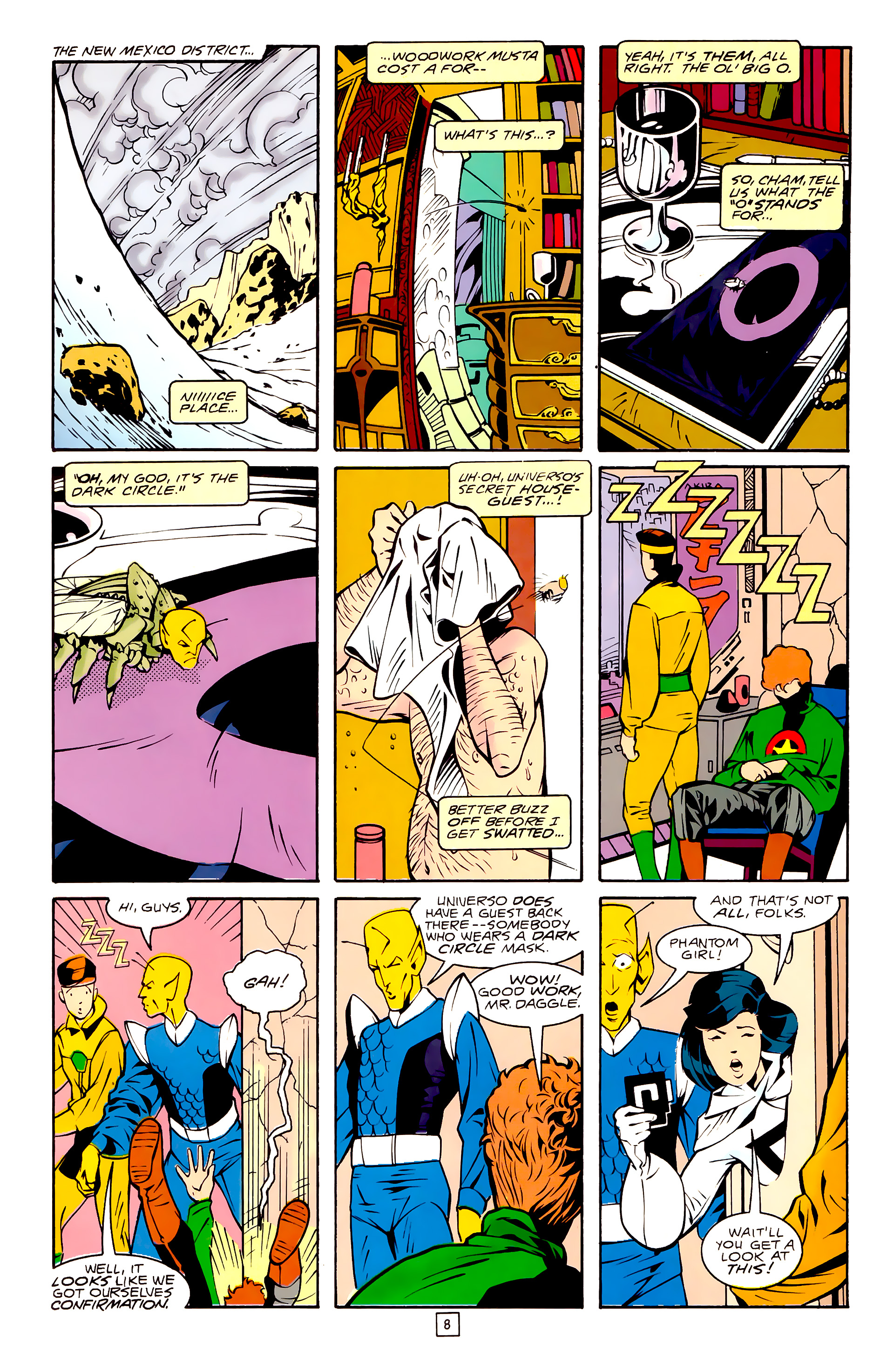 Legion of Super-Heroes (1989) 30 Page 8