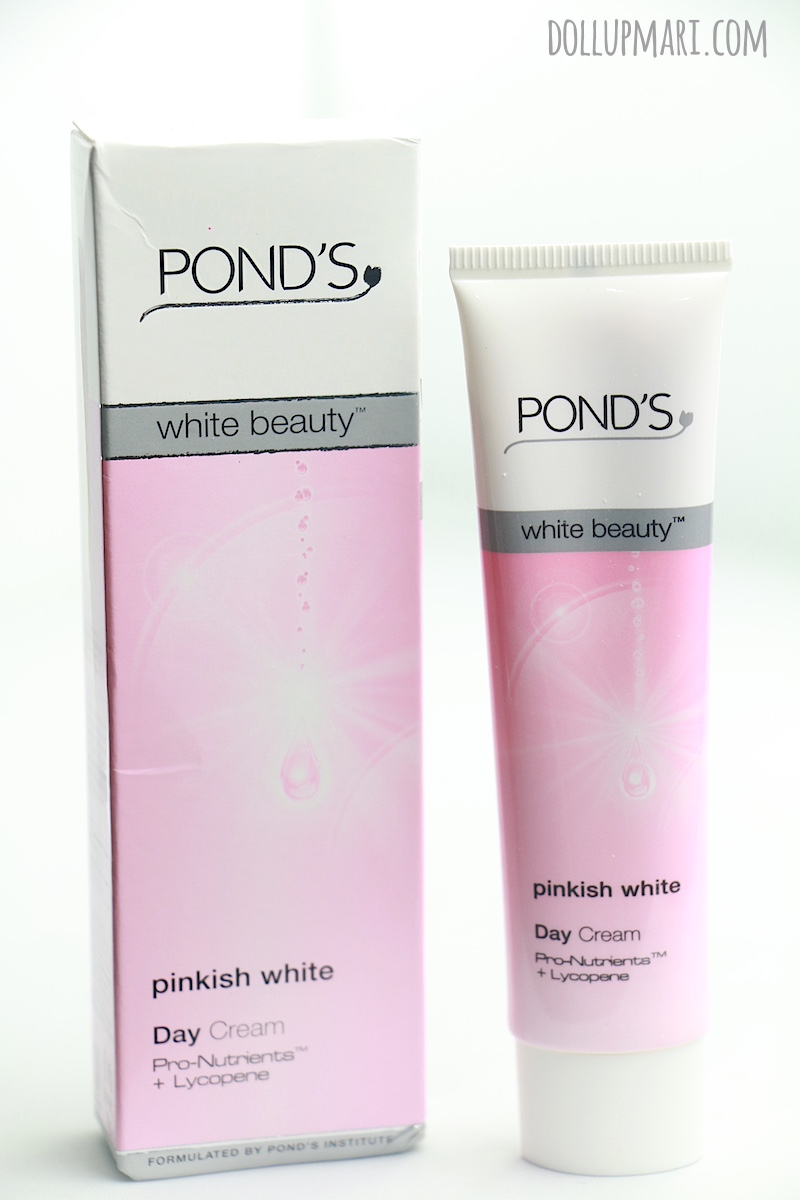 Pond's White Beauty Pinkish White Day Cream Review | Doll ...