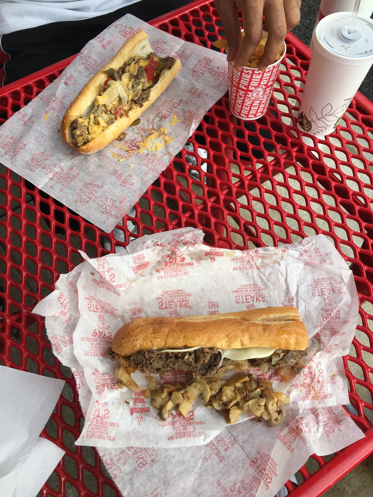 Pat's Cheesesteak Philadelphia