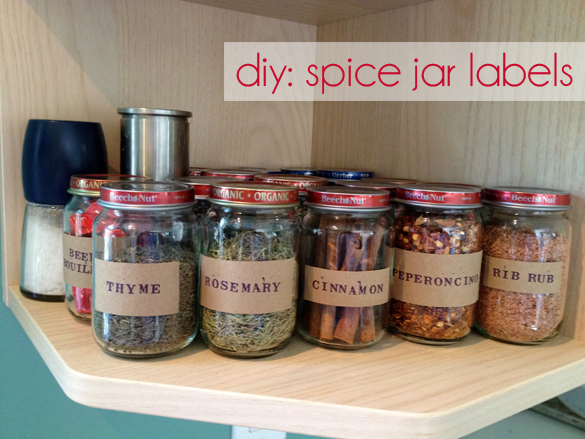 The Forge Diy Spice Jar Labels