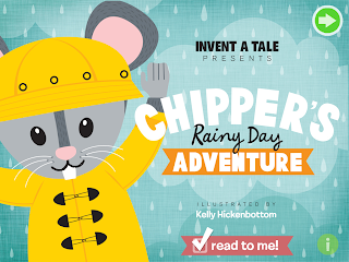 Chipper's Rainy Day Adventure iPad App Review