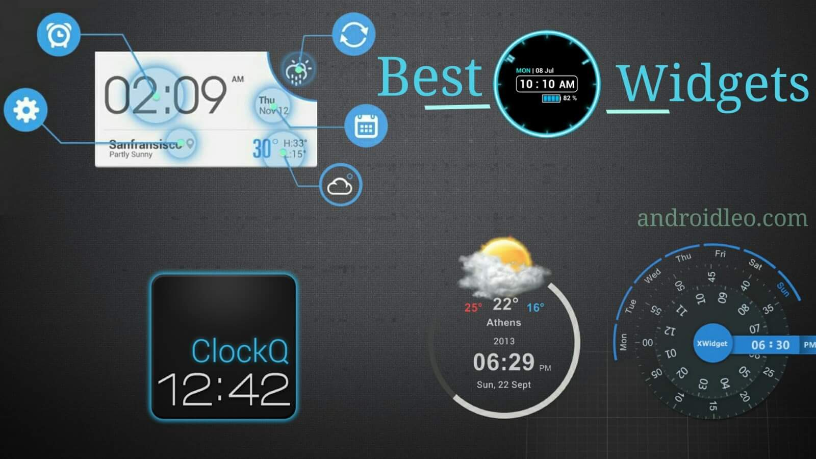 best clock widget apps android