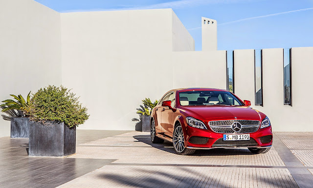 The design of the new Mercedes CLS