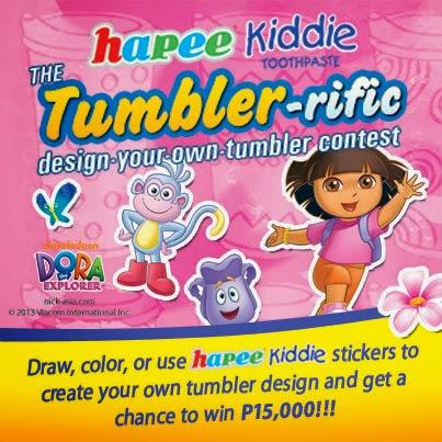 Happier with Hapee Kiddie Toothpaste