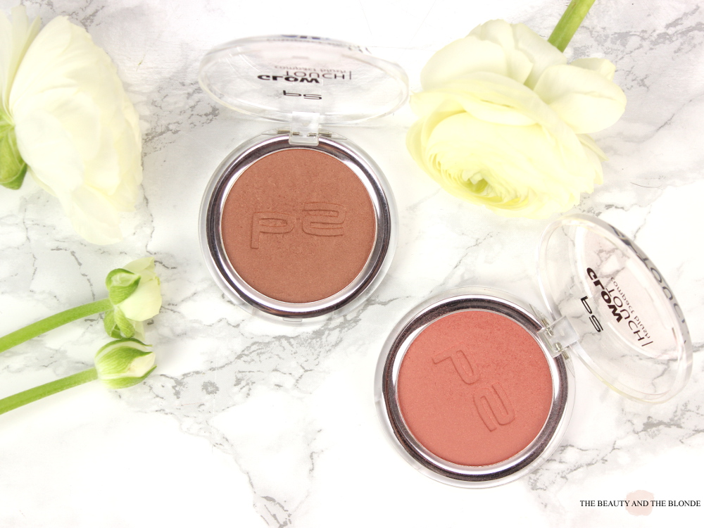 p2 glow touch blush touch of peony touch of amber drogerie