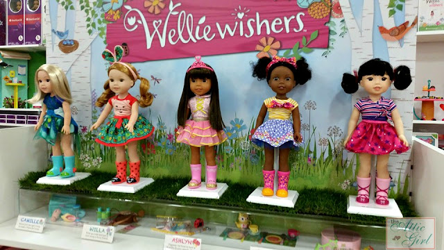 Wellie Wishers, American Girl dolls