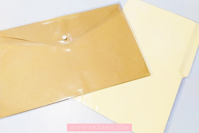 SM Department Store, SM Stationery, brown envelope with cover, long folder with cover