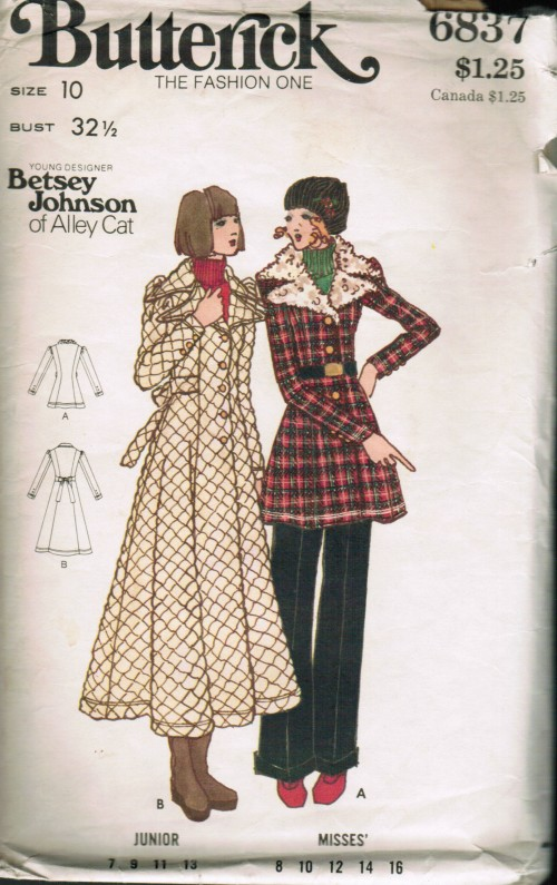 Gold Country Girls Betsey Johnson Again More Butterick