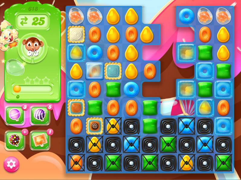 Candy Crush Jelly Saga level 618