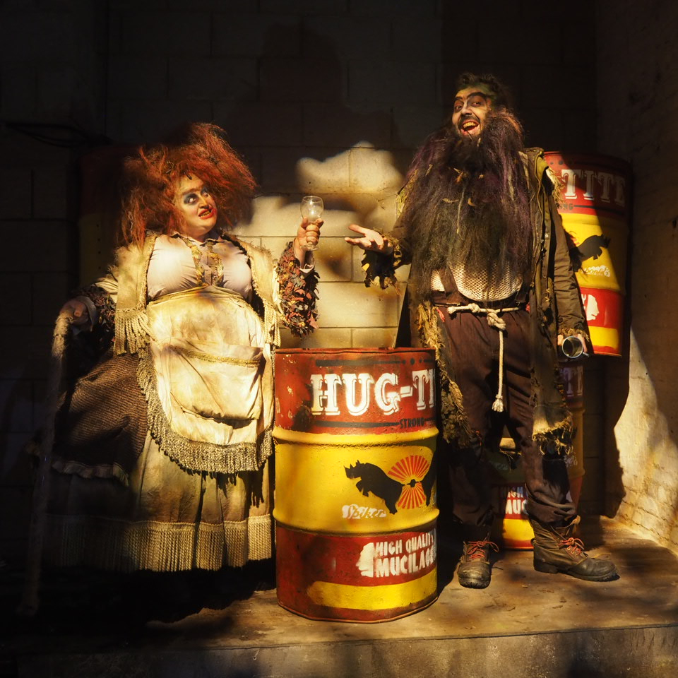 Mr and Mrs Twit