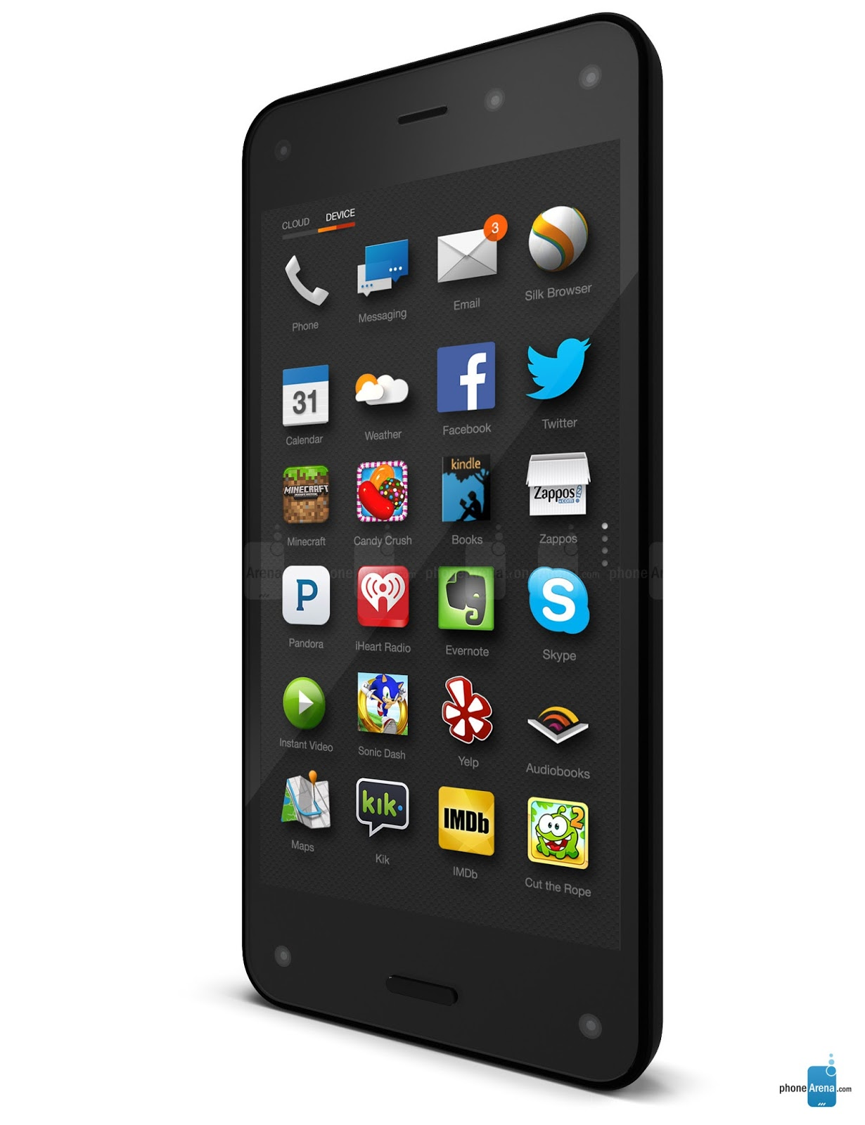 Smartphone 3D Amazon Resmi Diluncurkan