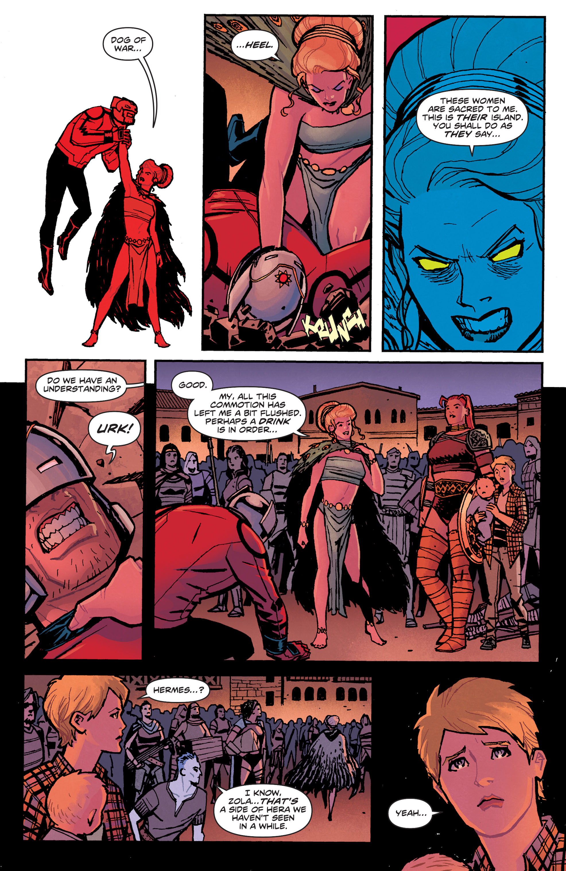 Read online Wonder Woman (2011) comic -  Issue #33 - 6
