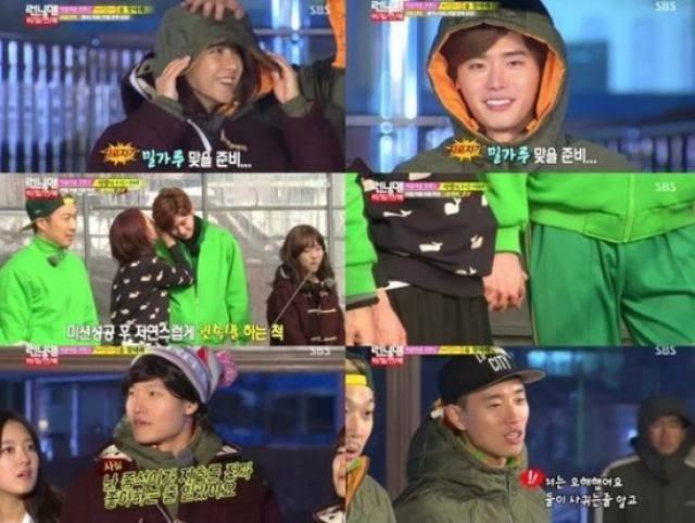 Running Man Mysia: Lee Jong Suk and Song Ji Hyo heat up the screen