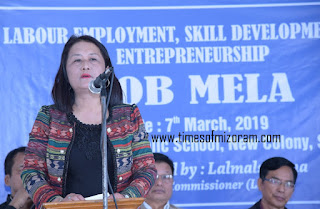 JOB MELA AT SIAHA DISTRICT MIZORAM