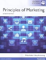 Judul Buku : Principles of Marketing 16 e Sixteenth Edition – Global Edition