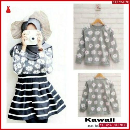 SPC237S40 Sweater Kawaii Wanita Sweater Outerwear Wanita   BMGShop
