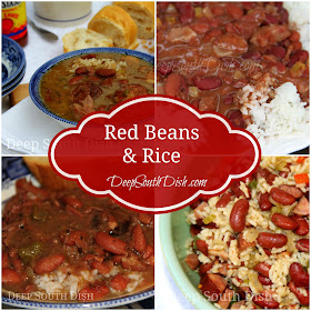 5 ways to make red beans and rice - from skillet, to instant pot, to slow cooker, to shortcut to slow stewed from dried beans.