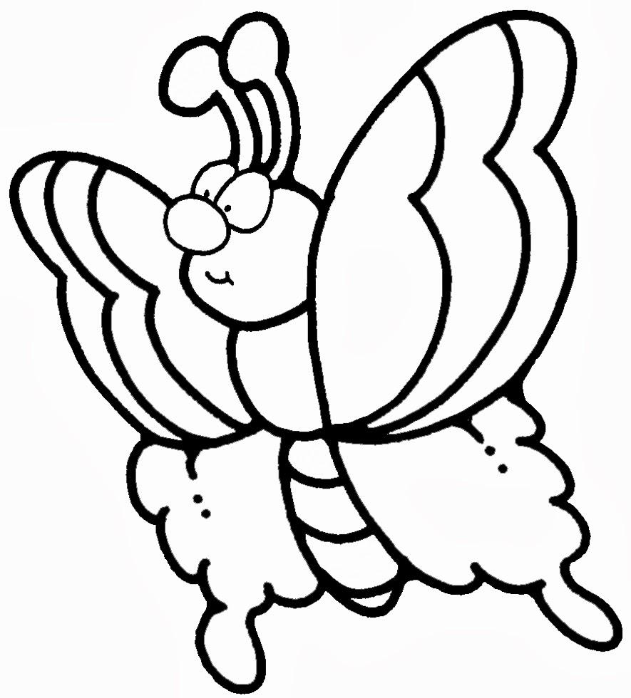 Disegni Di Farfalle Da Colorare