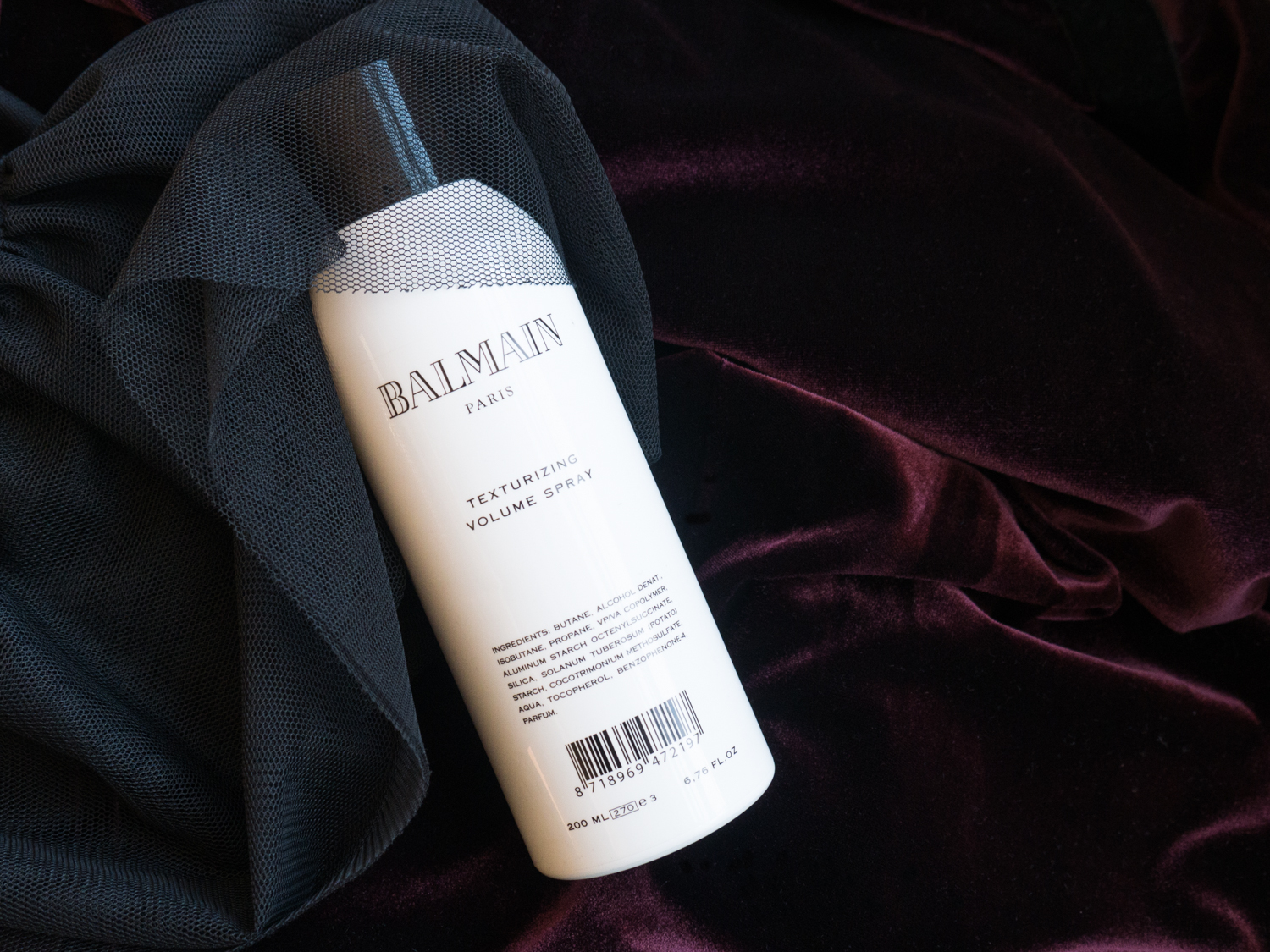 5c181b30 My strawberry fields: BALMAIN: TEXTURIZING VOLUME SPRAY