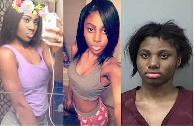 Shame! This pretty 17-yr-old girl is facing life imprisonment for raping 19-yr-old man at knifepoint (Photos)