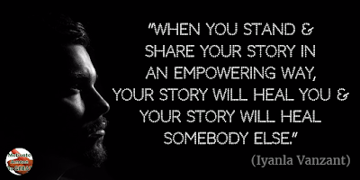 "71 Quotes About Life Being Hard But Getting Through It: ""When you stand and share your story in an empowering way, your story will heal you and your story will heal somebody else."" - Iyanla Vanzant"