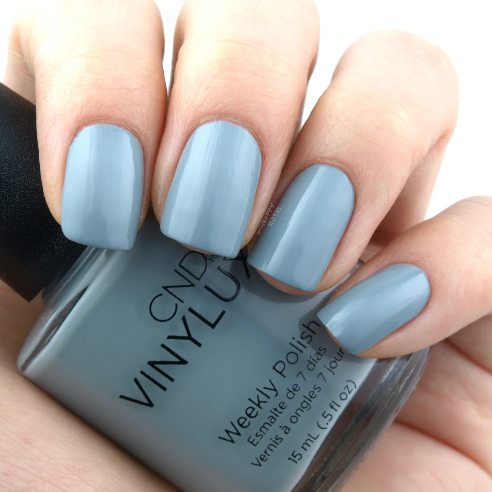 "CND Holiday 2017 Glacial Illusion Collection ""Mystic Slate"": Review and Swatches"