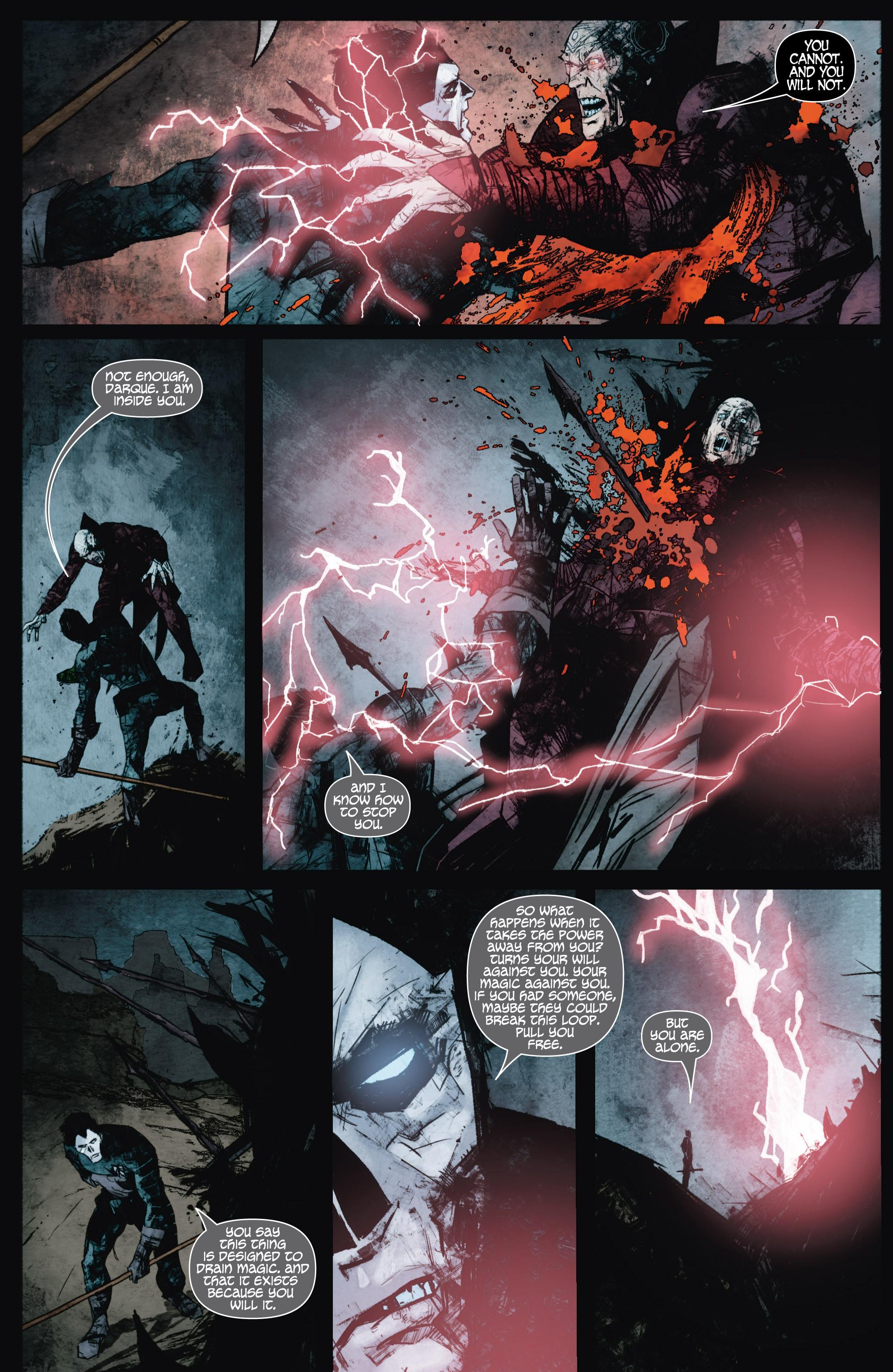 Read online Shadowman (2012) comic -  Issue #9 - 21