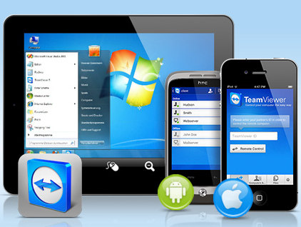 FULL FREE SOFT COLLECTION: Team Viewer (Turn your mobile into computer)
