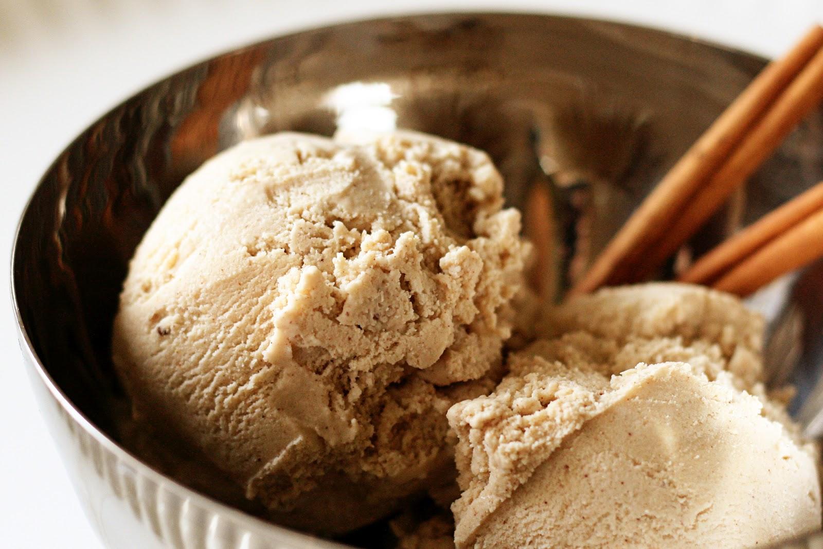 Naughty Carbs Cinnamon Ice Cream Low Carb