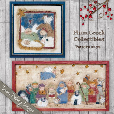 Painted Stitchery Nativity pattern