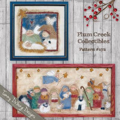 Painted Stitchery Nativity pattern