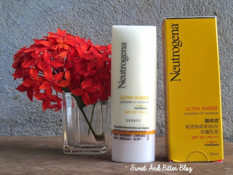 Neutrogena Ultra Sheer Complete UV Moisture with HELIOPLEX SPF 50