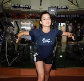 kangana ranaut workout at gym