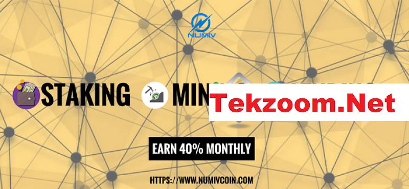 [SCAM] ICO Numivcoin [NUMIV] - ICO với Lending hằng tháng lên đến 40% hằng tháng