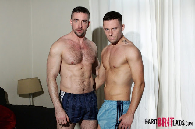 Hard Brit Lads - Theo Reid and Scott Hunter