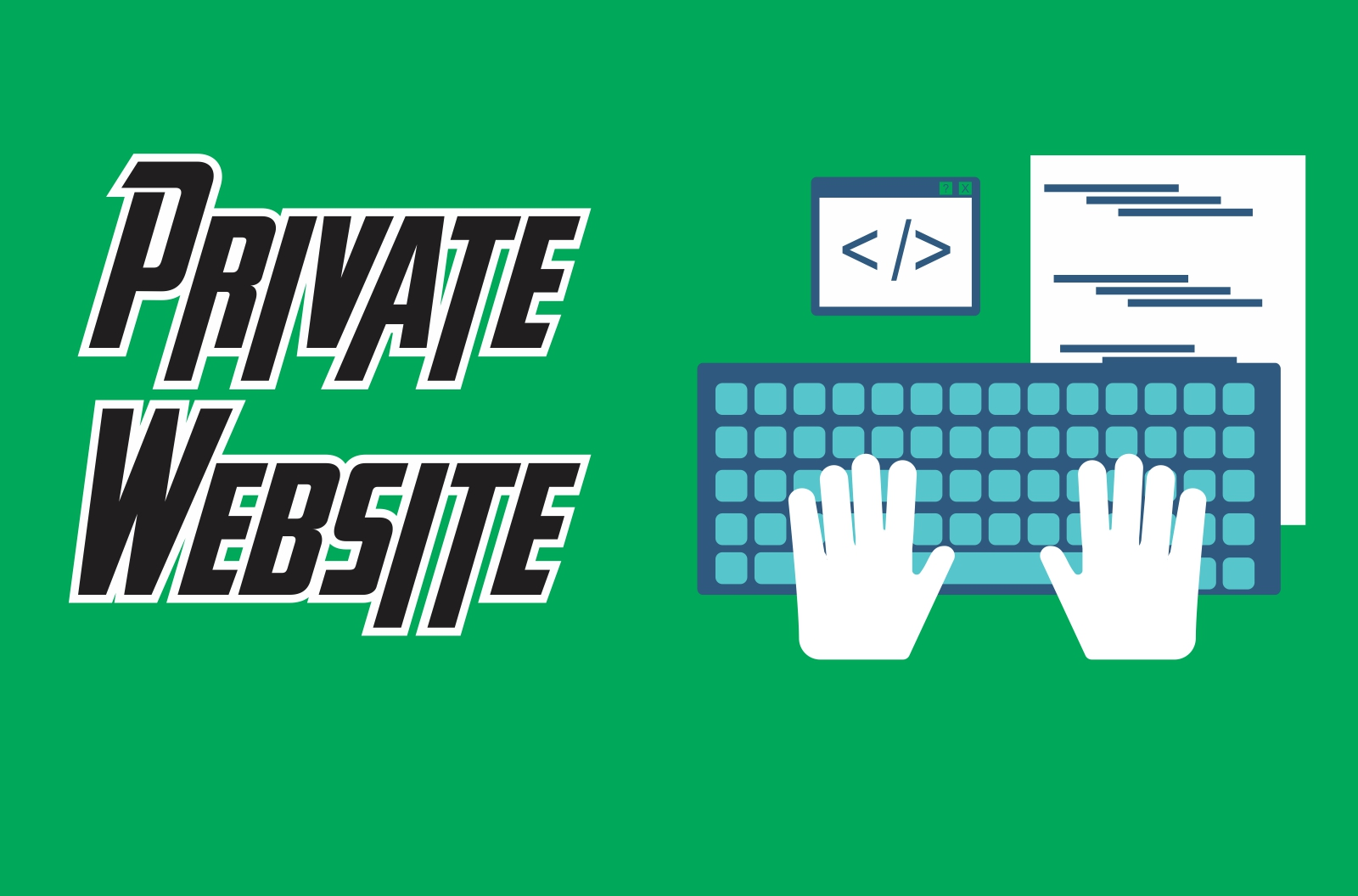Private atau Belajar Website