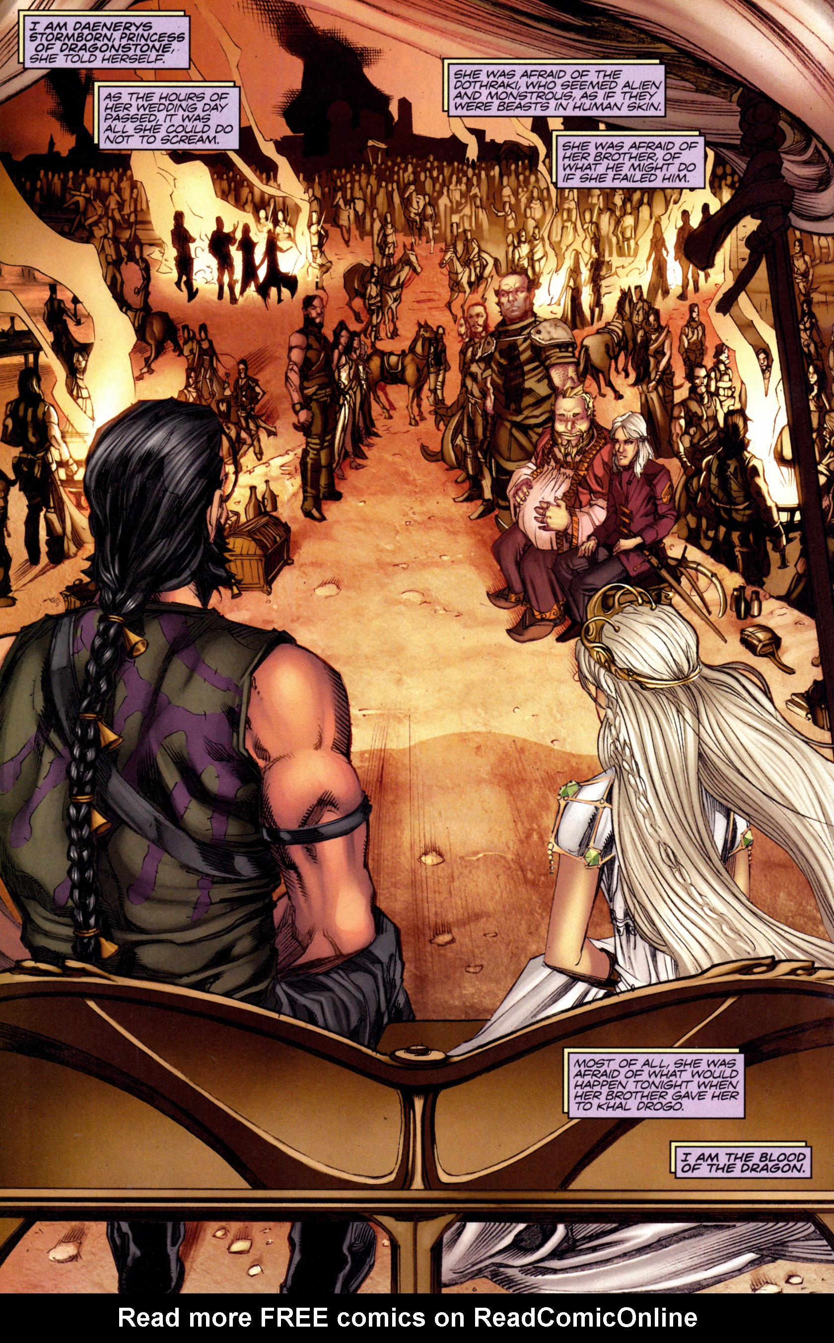 Read online A Game Of Thrones comic -  Issue #3 - 24
