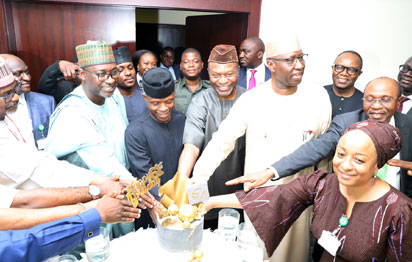 Photos: VP Osinbajo's 61st Birthday Celebration In Aso Rock