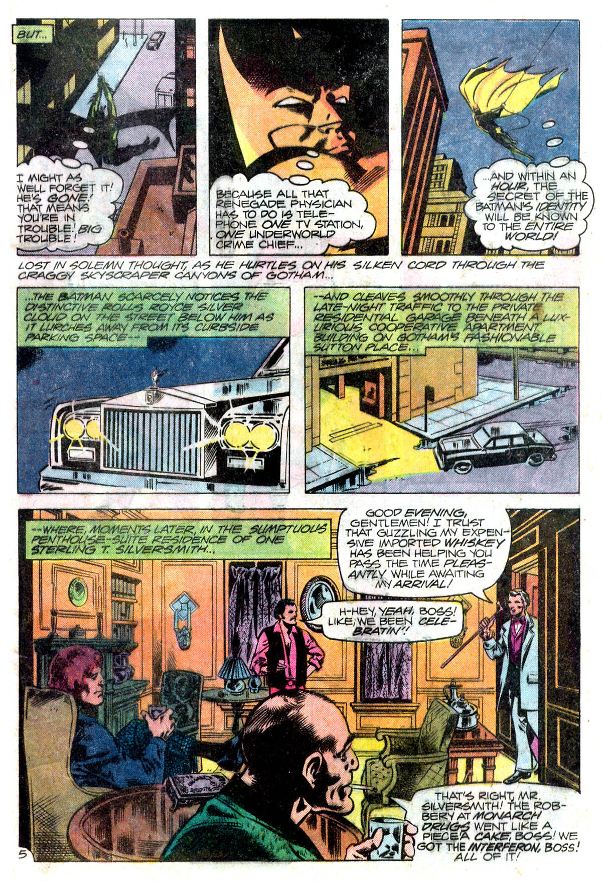 Detective Comics (1937) 495 Page 5