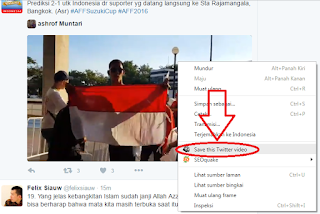 Cara Mendownload Video di Twitter 3