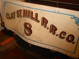clay street hill railroad cable car