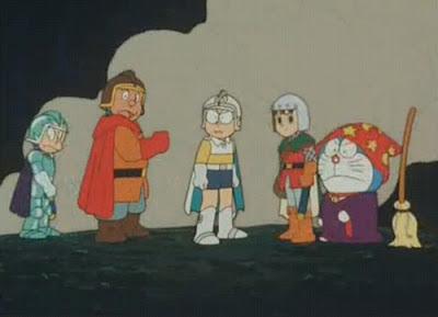 Doremon và 3 chàng hiệp sĩ mộng mơ