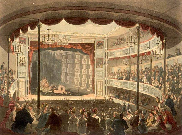 Sadler's Wells Theatre in the 19th century