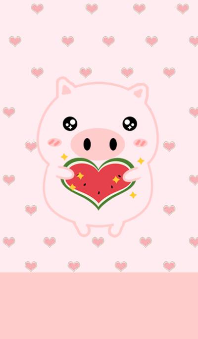 Mimi With Watermelon