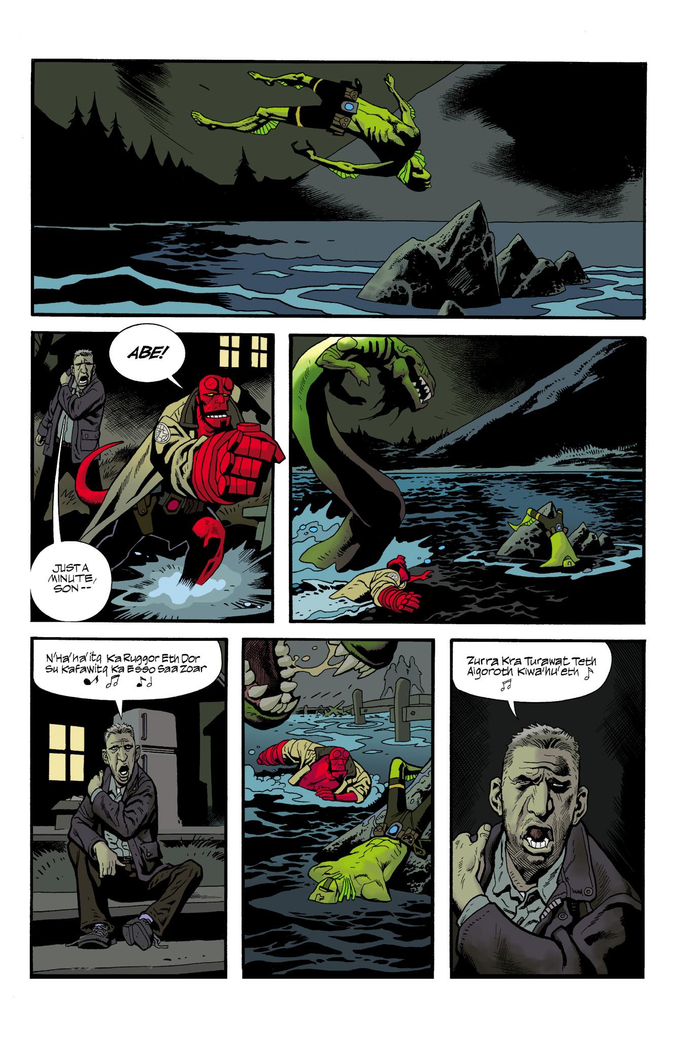 Read online Abe Sapien comic -  Issue #23 - 23