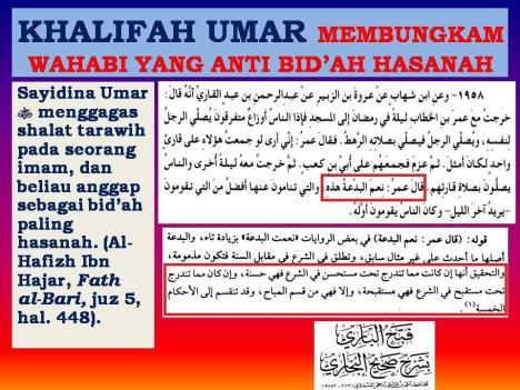 Khulafaur Rasyidin Membungkam Wahabi Yang Anti Bid'ah Hasanah