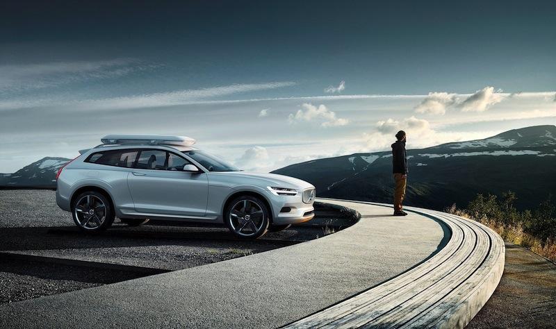 「ボルボ コンセプトXCクーペ」(Volvo XC Coupe Concept)