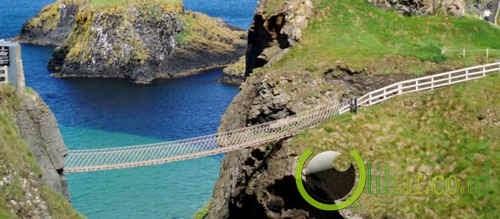 Jembatan Carrick-a-Rede Rope, Irlandia Utara